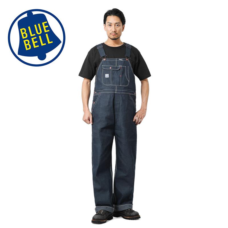 BLUE BELL ブルーベル WM1502 リジッドデニム オーバーオール