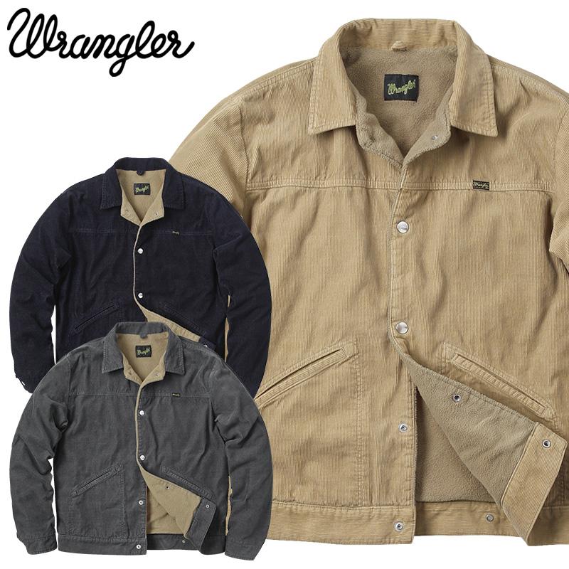【店内20%OFFセール開催中】Wrangler ラングラー WM1871 BROKEN-TWILL STORY ショートボアジャケット コーデュロイ