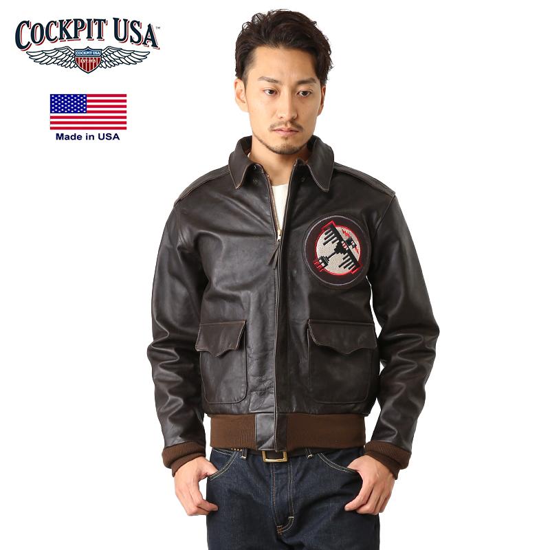 ebccb3d9c Cockpit USA cockpit Tokyo Raiders A-2 flight jacket leatherette jacket men  A2 flight jacket military jacket leather jacket outer