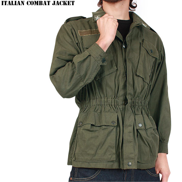 Military Select Shop Waiper Real Italy Military Combat Jacket Olive