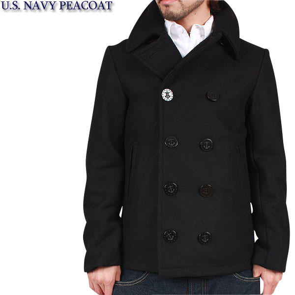 Black Navy Pea Coat | Fashion Women's Coat 2017