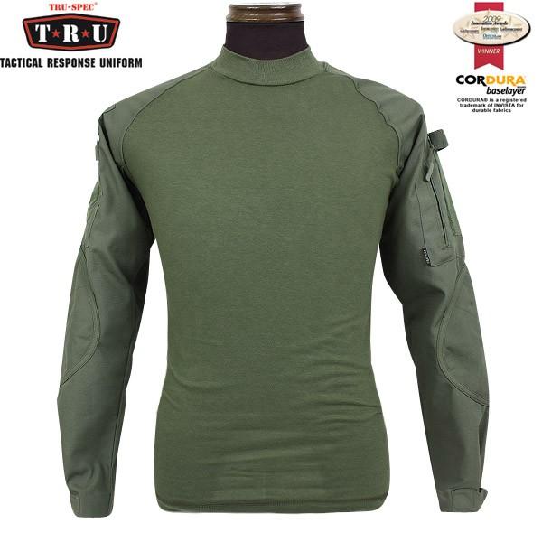 TRU-SPEC トゥルースペック Tactical Response Combat シャツ オリーブ Innovation Awards(革新賞)を受賞 【ミリタリーコンバットシャツ】【WIP03】 【クーポン対象外】
