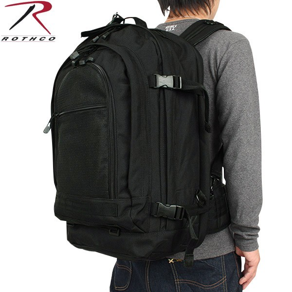 Product Name Rothco Rothko Move Out Tactical Travel Bag Black