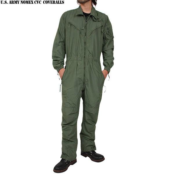 実物 新品 米軍新型 ノーメックス CVCタンカーカバーオール 米陸軍の戦闘車両搭乗員スーツ 旧型の物より数が少なくなかなか手に入りません【WIP03】【Sx】