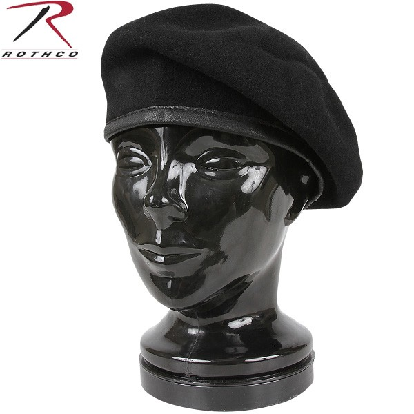 I can attach a beret flash (military unit identification chapter / badge)  that ROTHCO Roscoe INSPECTION READY WOOL beret black MIL-SPEC was  reproduced