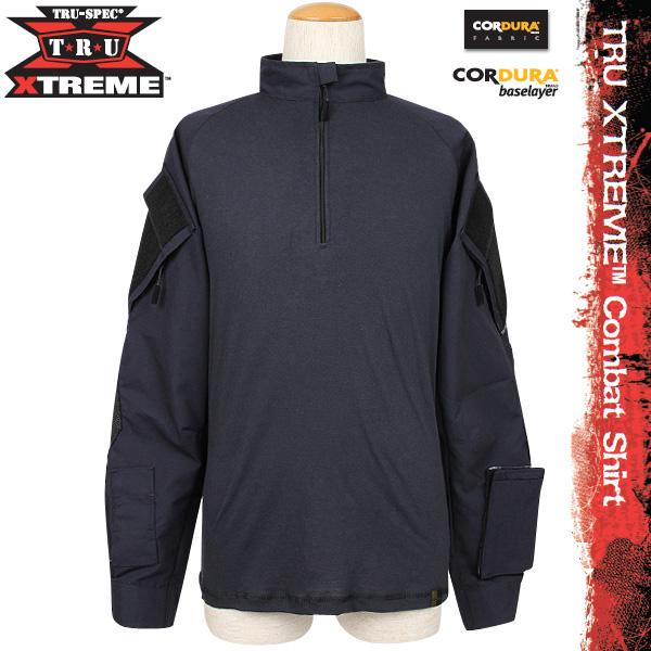 TRU-SPEC トゥルースペック TRU XTREME Combatシャツ Navy 【TRU XTREME Combat Shirt】 最新の技術を使用したXTREMEシリーズ 軽量、耐火、通気性、速乾性に優れた1枚《WIP03》 【クーポン対象外】