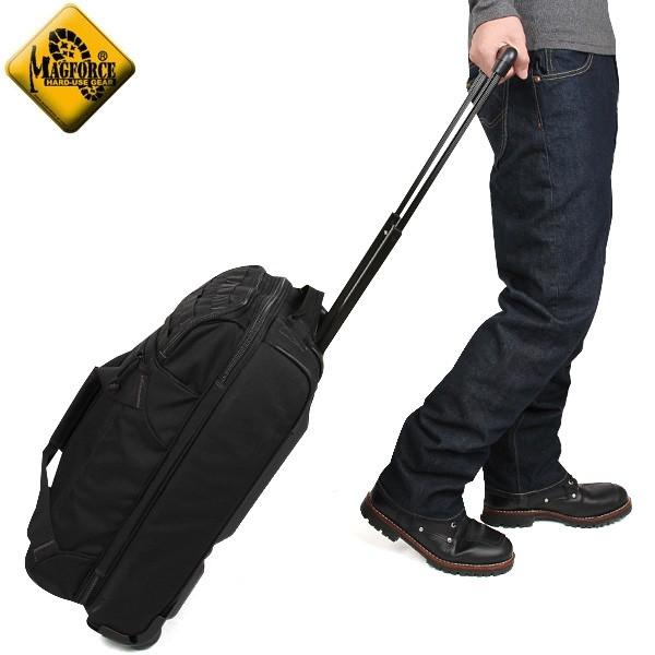 【店内20%OFFセール開催中】MAGFORCE マグフォース MF-5001 R1 Boarding Case 3WAYキャリーバッグ BLACK キャリーバッグ、手持ち、肩掛けとして 使用できる3WAYタイプ