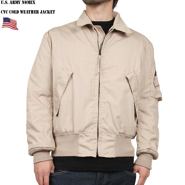 実物 新品 米陸軍 CVC NOMEX タンカース ジャケット TAN 《WIP03》【クーポン対象外】作りが他の米軍物に比べタイトでどちらかと言うと日本人向け 現地でも値段が高騰しているレアカラーのTAN