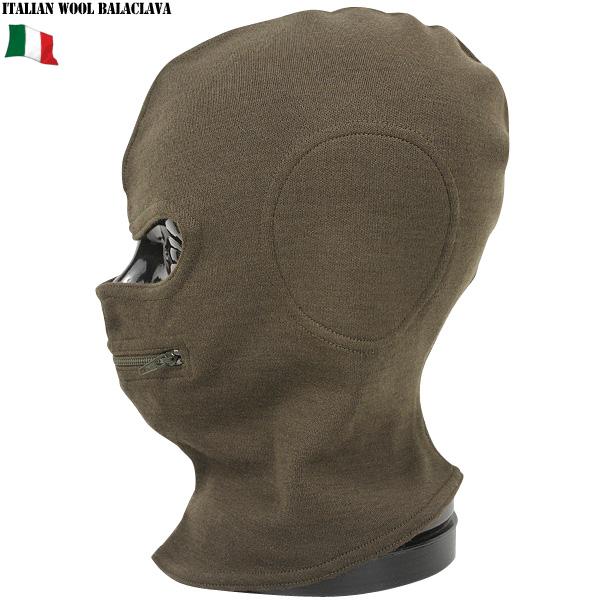 真正全新義大利軍事拉鍊羊毛巴拉克拉瓦口拉鍊可能設計功能,溫暖的優秀專案 10P05Sep15