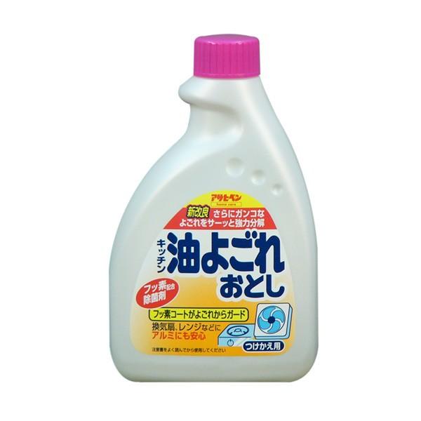 アサヒペン キッチン油よごれおとし つめかえ用 400ml×12個 大箱 B:ワイズライフ