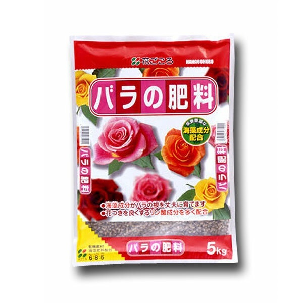 花付きを良くするリン酸成分が多く配合 花ごころ バラの肥料 期間限定お試し価格 5kg ショッピング A