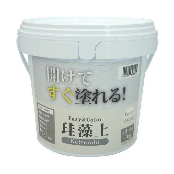 ワンウィル EASY&COLOR 珪藻土 ホワイト 5kg×4個 大箱 B, 東京正直屋:be09866c --- kasumin.jp