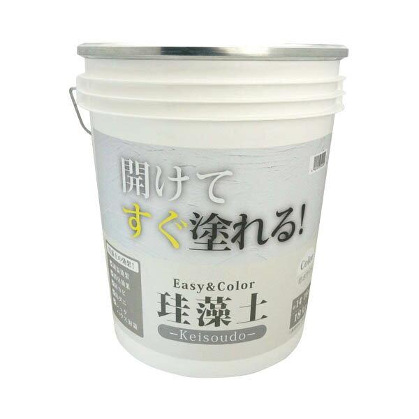 ワンウィル EASY&COLOR 珪藻土 ホワイト 18kg B