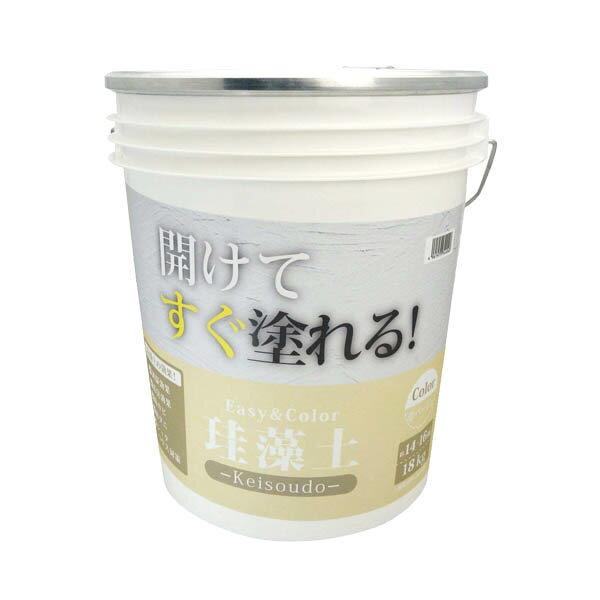 ワンウィル EASY&COLOR 珪藻土 ベージュ 18kg B
