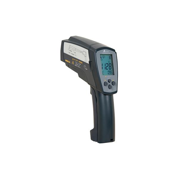 シンワ測定 放射温度計 H 高温測定用 デュアルレーザー ポイント機能付 放射率可変タイプ 73100 B