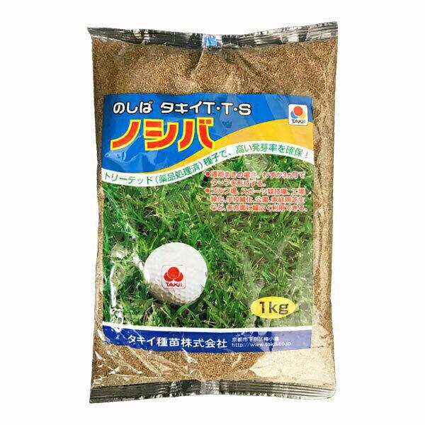 タキイ種苗 芝種 TTS ノシバ 1kg A
