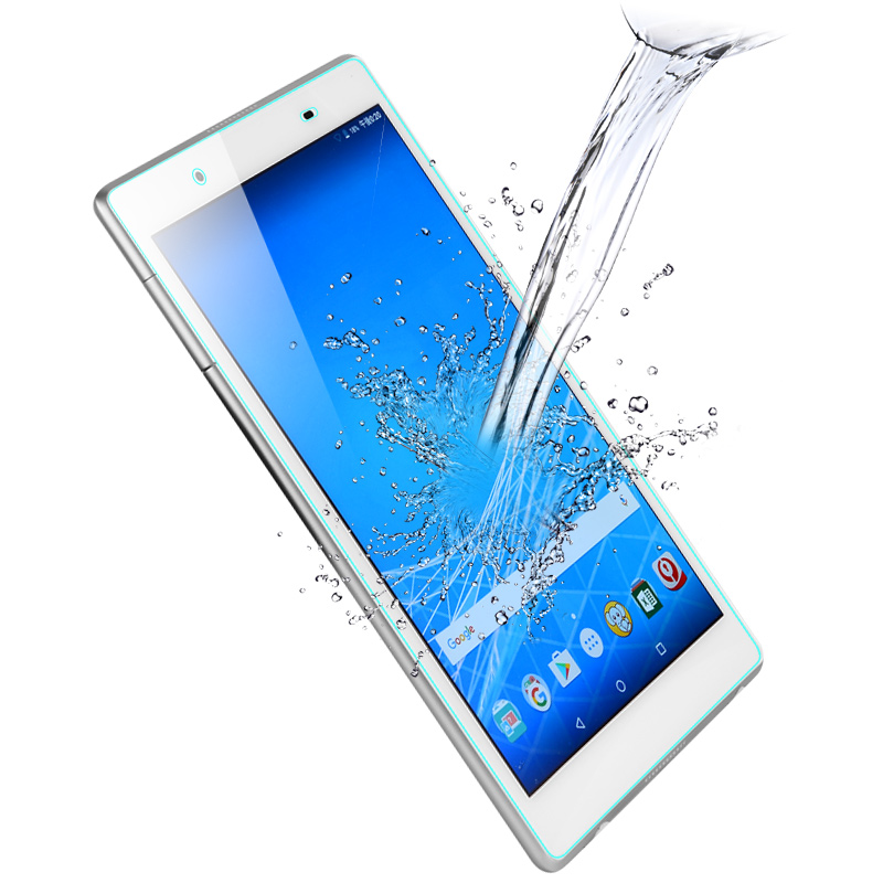 """Tablet Tempered Glass Screen Protector Cover For NEC LaVie Tab E TE508 8/"""""""