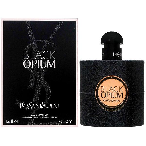 イヴ サンローラン YVES SAINTLAURENT ブラック オピウム EDP SP 50ml 【送料無料】Yves Saint Laurent Black Opium 【あす楽対応_お休み中】【香水 メンズ レディース】【香水 人気 ブランド ギフト 誕生日】