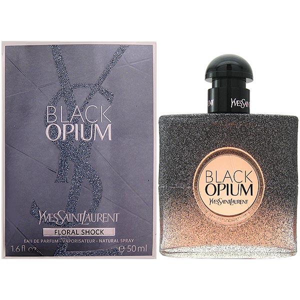 送料無料!【イヴ サンローラン】 ブラック オピウム フローラルショック EDP SP 50ml Yves Saint Laurent Black Opium Floral Shock【あす楽対応_14時まで】【香水】