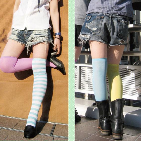 A big success! Simple knee socks