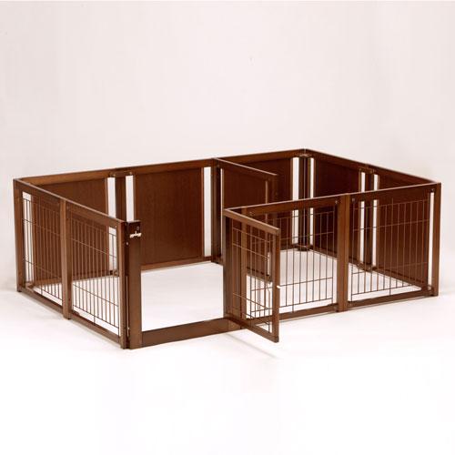 一番の ペットサークル プラス F 60XLp メッシュ [木製/ 60XLp 室内犬用 室内犬用 [木製/ 拡張可能](サークル・ケージ・ゲージ), PATY:d85e629f --- enduro.pl