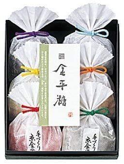 伝統と独自の製法を守り続けてきた逸品 金平糖専門店 100%品質保証 緑寿庵清水 即納最大半額 金平糖 詰め合わせ 45g×6種類 フルーツ こんぺいとう