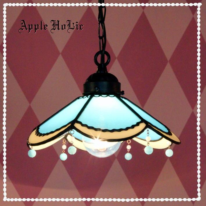 ペンダントライト 【Alres・アルル】 LED対応 クラシック レース ステンドグラス ランプ