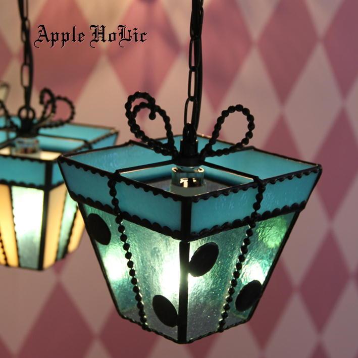 ペンダントライト 【Tender Heart・テンダーハート】 LED対応 プレゼント ステンドグラス ランプ