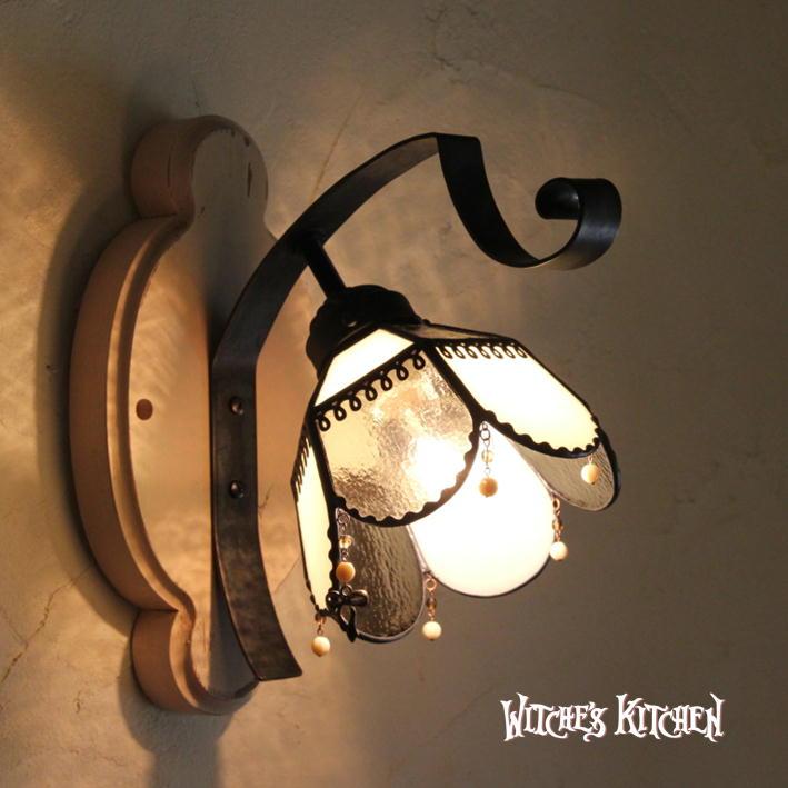 ブラケットライト【Coco・ココ】 LED対応 クラシック 壁掛け照明 ステンドグラス ランプ