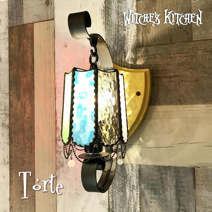 ブラケットライト【Torte・トルテ】LED対応 ポップ ステンドグラス ランプ ブラケット 照明 アンティーク 壁掛け照明