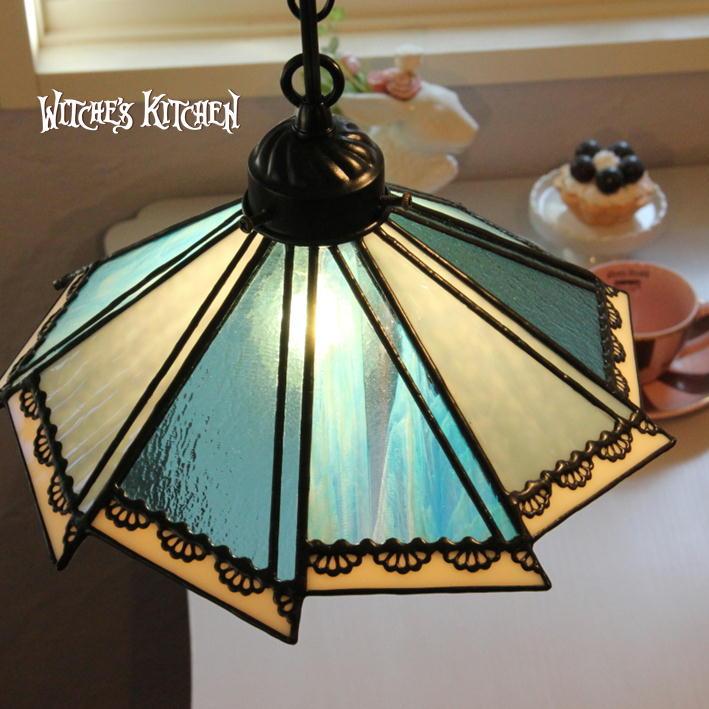 ペンダントライト 【Marica・マリカ】 LED対応 POP ステンドグラス ランプ