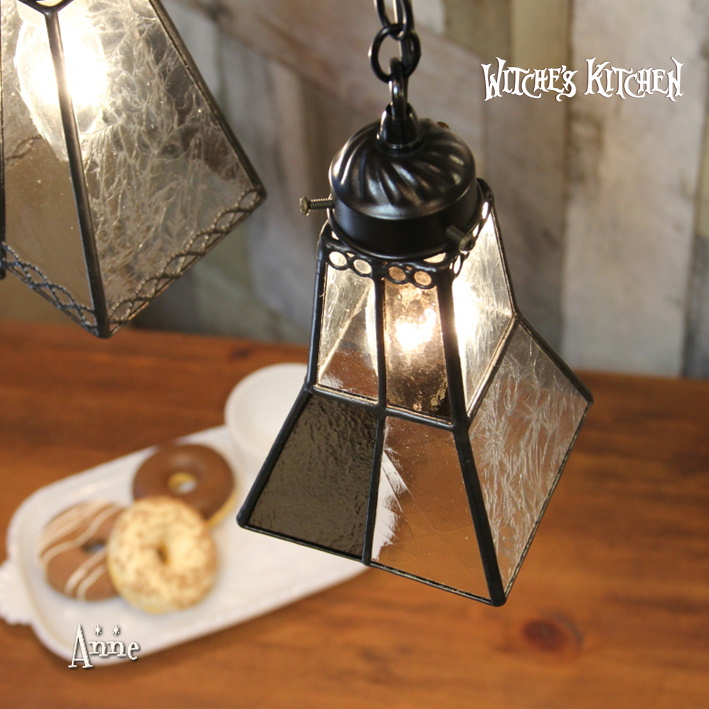 ペンダントライト 【Anne・アン】 LED対応 ブルックリン ステンドグラス ランプ