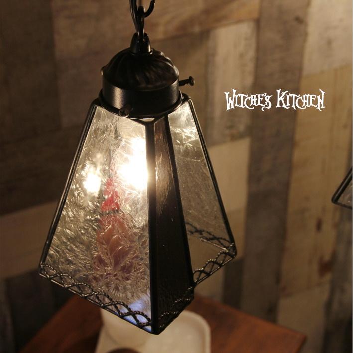ペンダントライト 【Bled・ブレッド】 LED対応 ブルックリン ステンドグラス ランプ