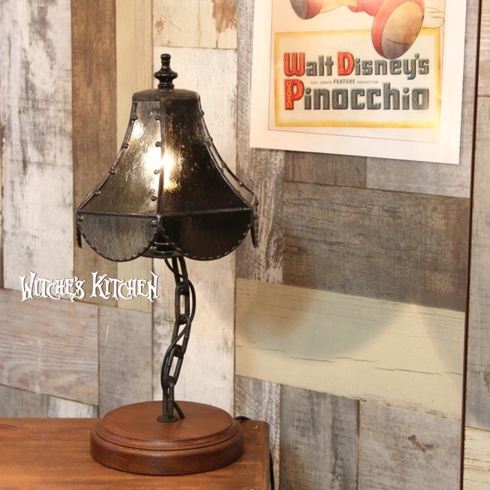 テーブルランプ 【Valrhona・ヴァローナ】 LED対応 ブルックリン 置き型照明 ステンドグラス ランプ