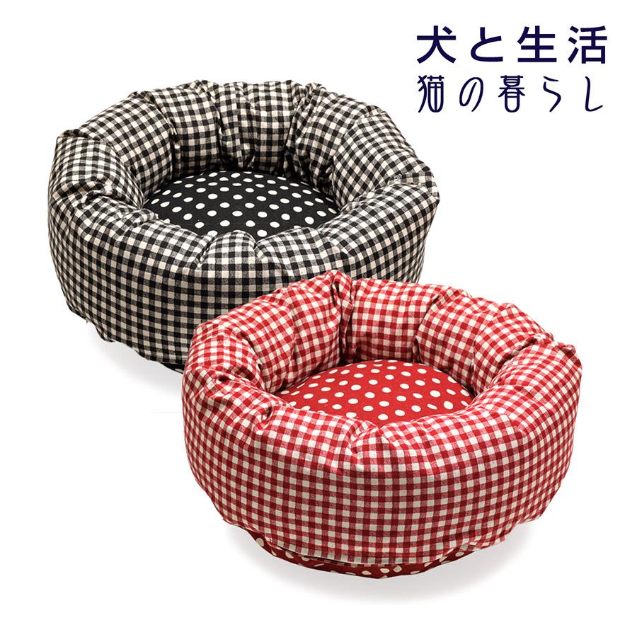 カドラー ギンガムドット S【日本製 洗濯OK】