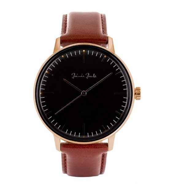 """""""JaimieJacobs ジェイミージェイコブス """"発 シンプルで洗練されたデザインの腕時計です ※付け替え用のストラップもございます 別売り 送料無料 JaimieJacobs WATCH SCHWABING MIDNIGHT 腕時計 アナログ brown ストラップ 茶 gold ウォッチ 1着でも送料無料 ブラウン レザー ローズ ゴールド 金 2年保証 rose 送料無料でお届けします"""