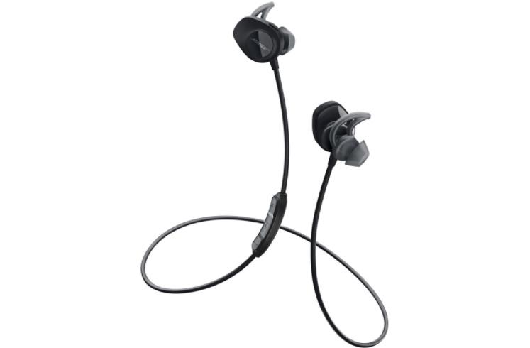 汗や水分に強い防滴仕様で 激しいエクササイズにも対応 Bose ボーズ SoundSport 公式ストア wireless headphones ワイヤレス イヤホン ブラック NFCペアリング Bluetooth 防滴仕様 卸売り スポーツ エクササイズ Bluetooth接続 最大6時間連続使用 NFC マイク付きリモコン