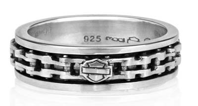 ハーレーダビッドソン Harley Davidsonリングスピニング バイク チェーン リングSpinning Bike Chain Ring with Bar & Shield Logoハーレー純正 正規品 アメリカ買付 USA直輸入 通販