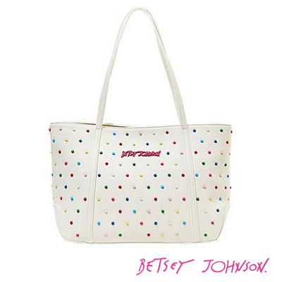 c79e1be2ee Betsey Johnson Betsey Johnson tote bag CANDY DOTS TOTE (White) candy dots  tote bag (white) polka dot Womens Bag new genuine Japan – United States  purchase ...