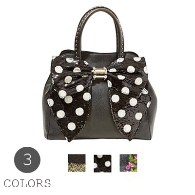 The Betsy Johnson Betsey Handbag Oh Bow Satchel Ribbon Satchell Bag All Three Colors Lady S New Work Regular Article Non Arrival In