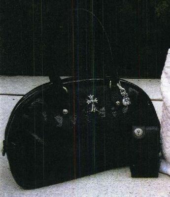 【Chrome Hearts】 クロムハーツ バッグ Handbag レザー ハンドバッグ本物 正規品 アメリカ買付 USA直輸入