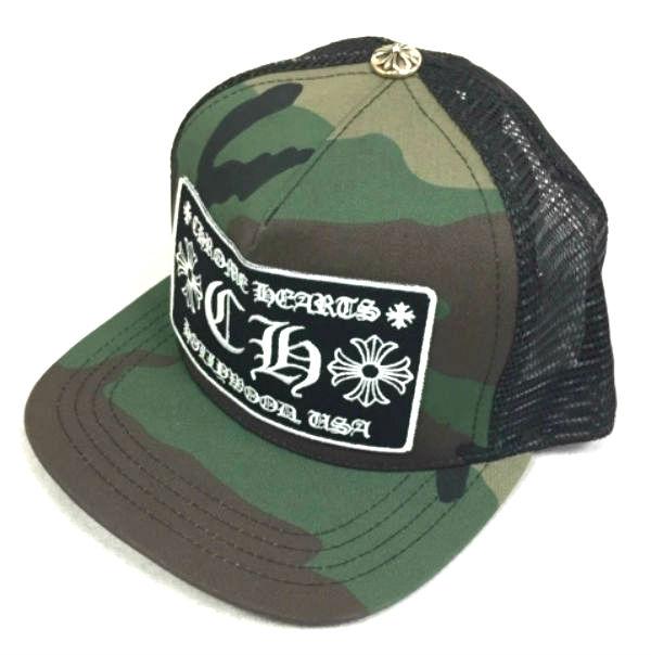 69b14578e28 Chromic Hertz cap Trucker Cap Patchwork CH trucker baseball cap CH  (camouflage   black) genuine article regular article United States buying  USA direct ...