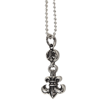 5576a697c409 Chrome hearts necklace Charm 1 Ball BS Fleur one-ball-BS-flare real genuine  purchase USA from u.s.a.