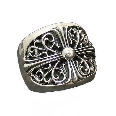 クロムハーツ Chrome Hearts リングクラッシックオーバルリングClassic Oval Ring本物 正規品 アメリカ買付 USA直輸入