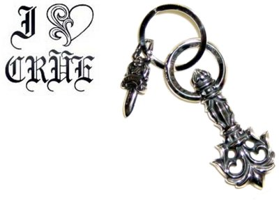 【Chrome Hearts】 クロムハーツ キーリングフィリグリープルキーリングFiligree Pull Key Ring本物 正規品 アメリカ買付 USA直輸入