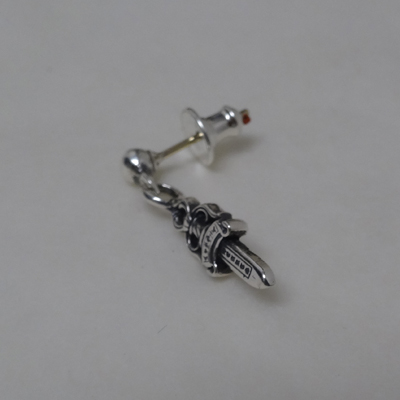 Chrome Hearts Earrings Drop Stack Dagger Earring Real Genuine American Purchase Usa Imported