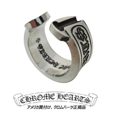 크롬 하트 Chrome Hearts 반지 CH 스크롤 상표 반지 CH Scroll Label Ring 진짜 정품 미국 구매 USA 직 수입