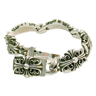【Chrome Hearts】 クロムハーツ ブレスレットブレスレット キーパーリンクKeeper Link Bracelet本物 正規品 アメリカ買付 USA直輸入