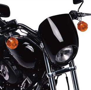 ハーレーダビッドソン Harley Davidsonヘッドライトバイザーハーレー純正 正規品 アメリカ買付 USA直輸入 通販