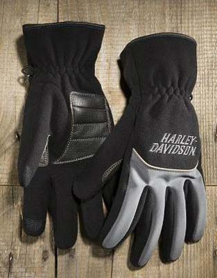 ハーレーダビッドソン Harley DavidsonグローブMen's Fleece and Nylon Full-Finger Gloves★ ハーレー純正 正規品 アメリカ買付 USA直輸入 通販